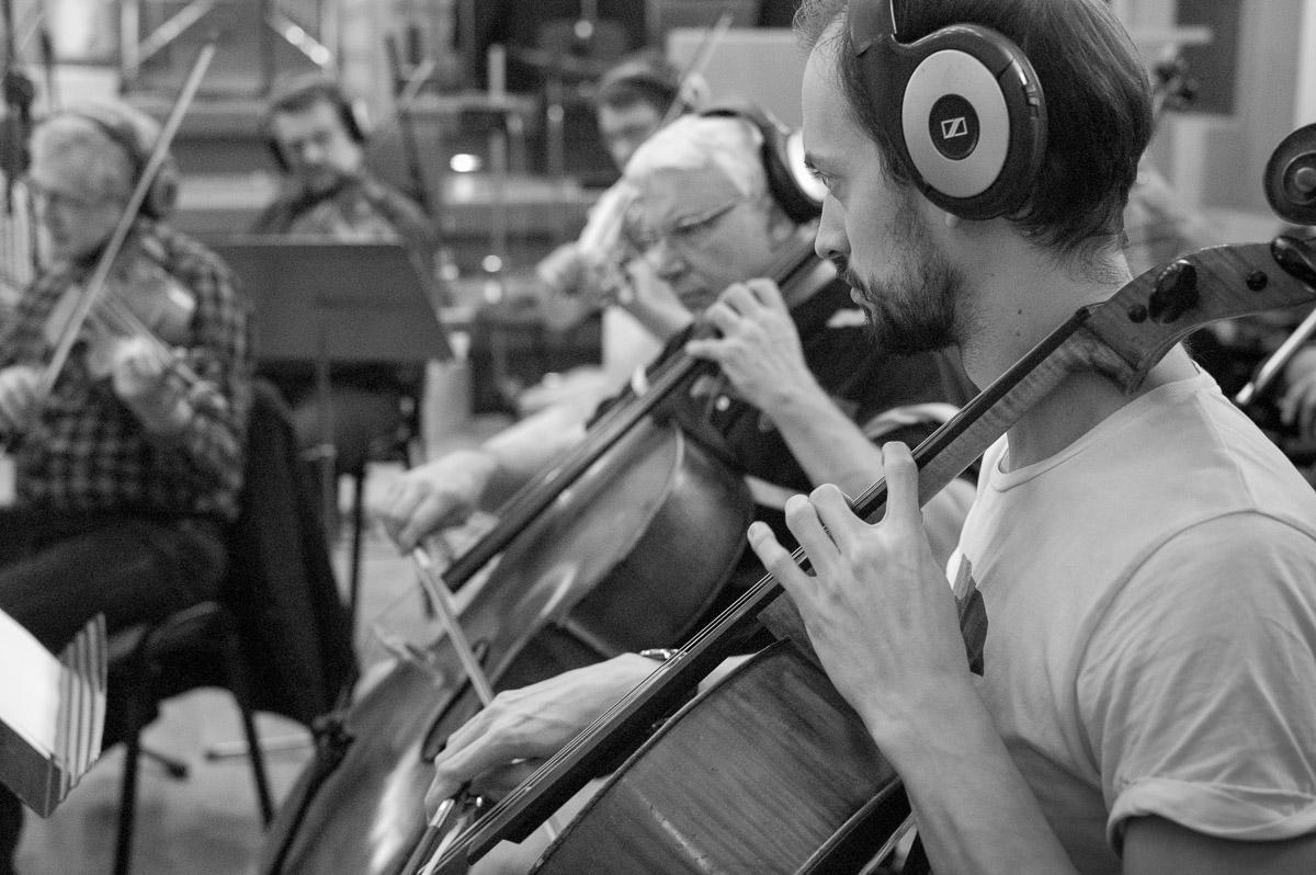 Film soundtrack recordings in Prague