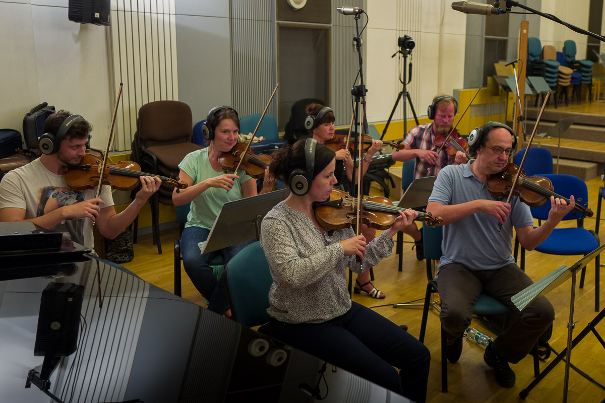 Orchestra Recordings in the Czech Republic