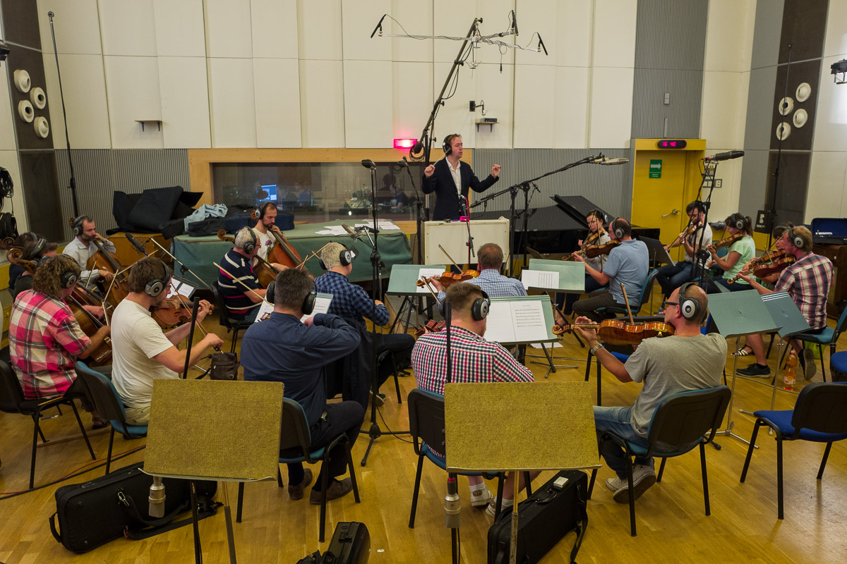 Film score recordings in the Czech Republic