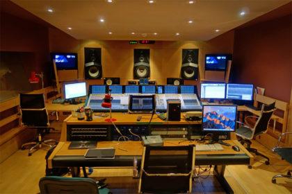 Czech TV Studio A - Control Room