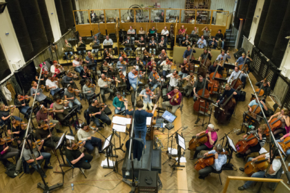 Czech Studio Orchestra - Smecky Studios, Prague